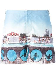 photo print swim shorts Orlebar Brown