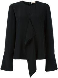 блузка с рюшами Emilio Pucci