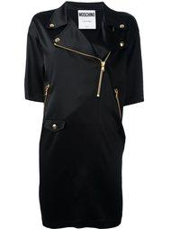 байкерское платье Moschino