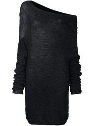 свитер с открытым плечом  Lost & Found Ria Dunn