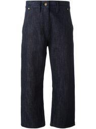 укороченные джинсы  Studio Nicholson