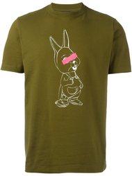 футболка с принтом кролика Ps By Paul Smith