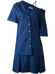 асимметричное платье-рубашка Jacquemus