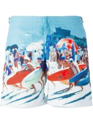 surf photo print swim shorts Orlebar Brown