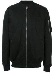 куртка бомбер с декоративным ремешком Rick Owens DRKSHDW