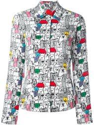 рубашка с принтом котов и собак Ultràchic