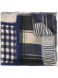 лоскутный шарф Pierre-Louis Mascia
