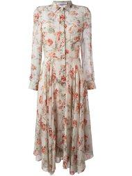 платье шифт с цветочным узором Philosophy Di Lorenzo Serafini