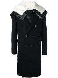 пальто с широким воротником Juun.J