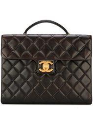 стеганый портфель  Chanel Vintage