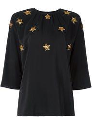 блузка с пайетками  Dolce & Gabbana