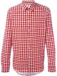 рубашка с принтом роз Ps By Paul Smith
