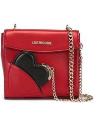 сумка на плечо с подвеской-сердцем Love Moschino