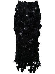 юбка 'Flora' Simone Rocha