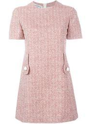 платье в елочку  Pierre Cardin Vintage