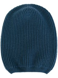 шапка ребристой вязки Moncler