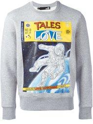 толстовка 'Tales from Love' Love Moschino