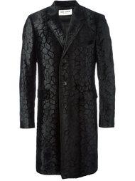 фактурное пальто 'Chesterfield'  Saint Laurent