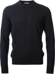 свитер с круглой горловиной Drumohr