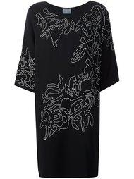 платье-шифт с цветочным узором  Maiyet