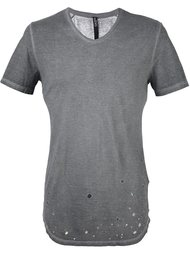 футболка с потертой отделкой Tom Rebl