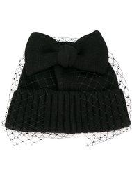 шапка-бини с вуалью Ca4la