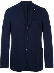 пиджак на три пуговицы Lardini