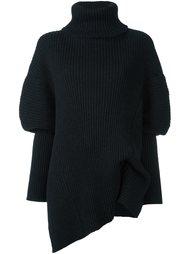 свободный свитер-водолазка  Ann Demeulemeester