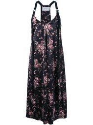 платье-комбинация с цветочным рисунком Strateas Carlucci
