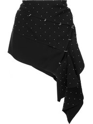 асимметричная юбка с заклепками Anthony Vaccarello
