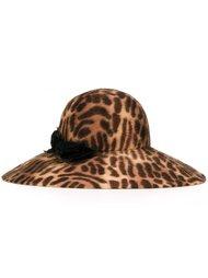шляпа с леопардовым принтом   Ca4la