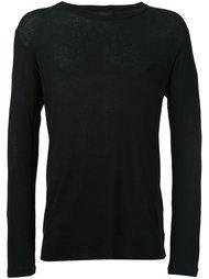 свитер с круглым вырезом   Ann Demeulemeester