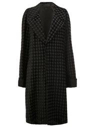 пальто с ломаной клеткой Haider Ackermann