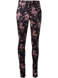 брюки с цветочным рисунком Strateas Carlucci