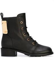 ботинки с логотипом Giuseppe Zanotti Design