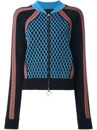 трикотажная спортивная куртка Versace