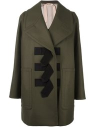 пальто с ремешками Nº21