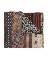 patchwork contrast scarf Pierre-Louis Mascia
