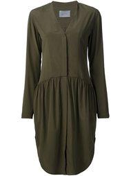 collarless shirt dress Maiyet