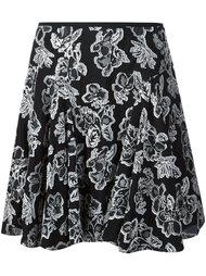 юбка с цветочной вышивкой  Maiyet