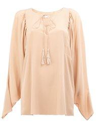 блузка с разрезом  Chloé