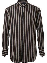 рубашка в  полоску Strateas Carlucci
