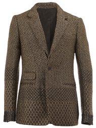 contrast pattern blazer Haider Ackermann