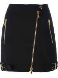 байкерская юбка Moschino