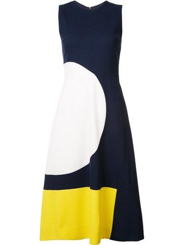 платье дизайна колор-блок Novis