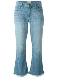 укороченные расклешенные джинсы  Current/Elliott