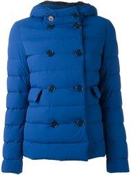 двубортная куртка-пуховик с капюшоном Aspesi