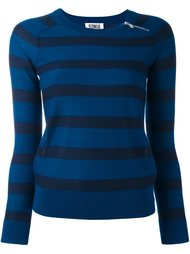 вязаный свитер в полоску  Sonia By Sonia Rykiel