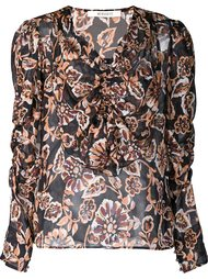 блузка с оборками  Rodarte