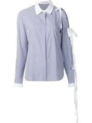 pinstripe button down shirt Sandy Liang